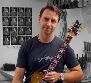 frank hartung guitars-portrait photo