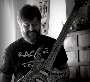 bacce custom guitars & basses-portrait photo